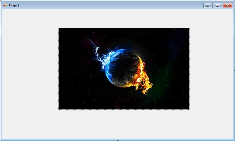 jerrycoding C# winform 控件跟随窗口大小缩放